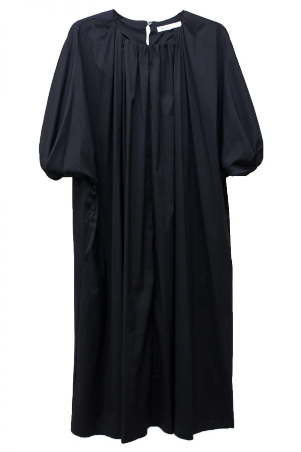 08 SIRCUS ストレッチギャザードレス【19AW】