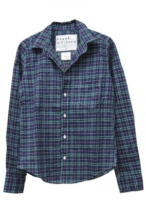 FRANK & EILEEN シワ加工チェックシャツ(BARRY) [19AW]