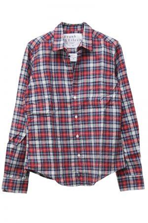 FRANK & EILEEN チェック柄ネルシャツ(BARRY) [19AW]