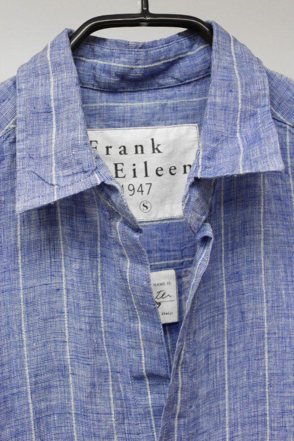 FRANK & EILEEN ストライプロングリネンシャツ(HUTER)[19AW]