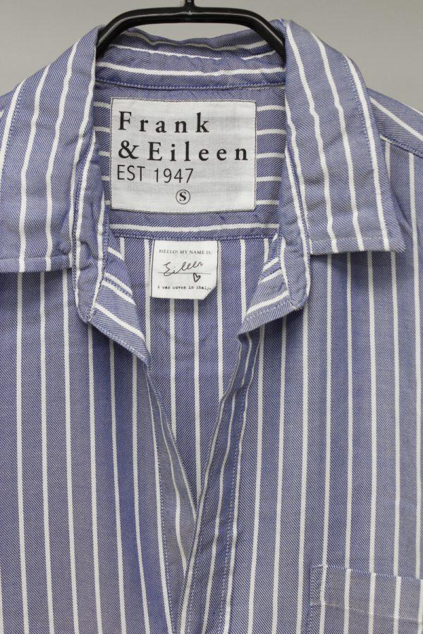 FRANK & EILEEN レーヨンストライプシャツ(Eileen) [19AW]