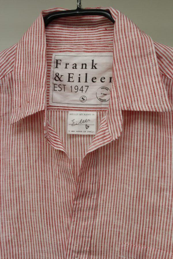 FRANK & EILEEN ストライプ長袖シャツ(Eileen)[19AW]