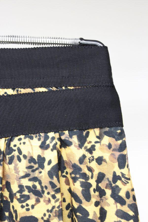 08 SIRCUS フラワープリントラップスカート【19AW】