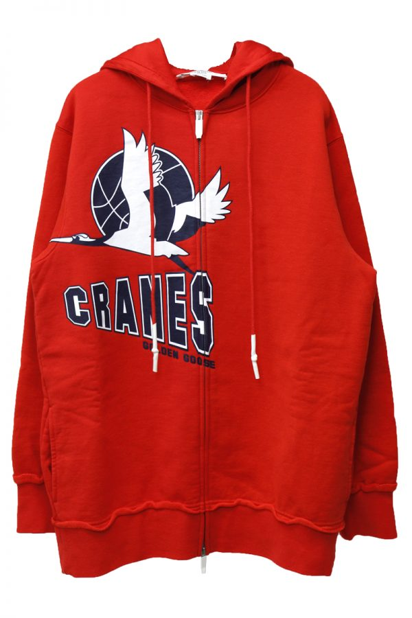 GOLDEN GOOSE DELUXE BRAND 【40%OFF 】CRANESジップアップフーディー【19AW】