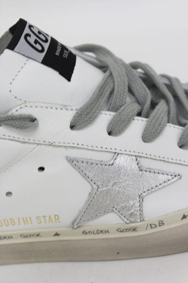 GOLDEN GOOSE DELUXE BRAND HI STAR厚底スニーカー(WHITE)【19AW】