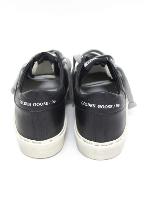 GOLDEN GOOSE DELUXE BRAND HI STAR厚底スニーカー(BLACK)【19AW】