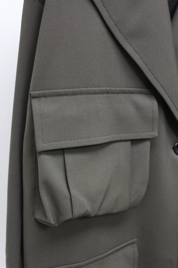 HACHE ポケット付ロングコート【19AW】