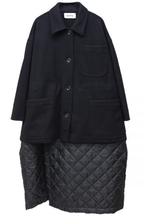 HACHE 2WAY切替コート【19AW】