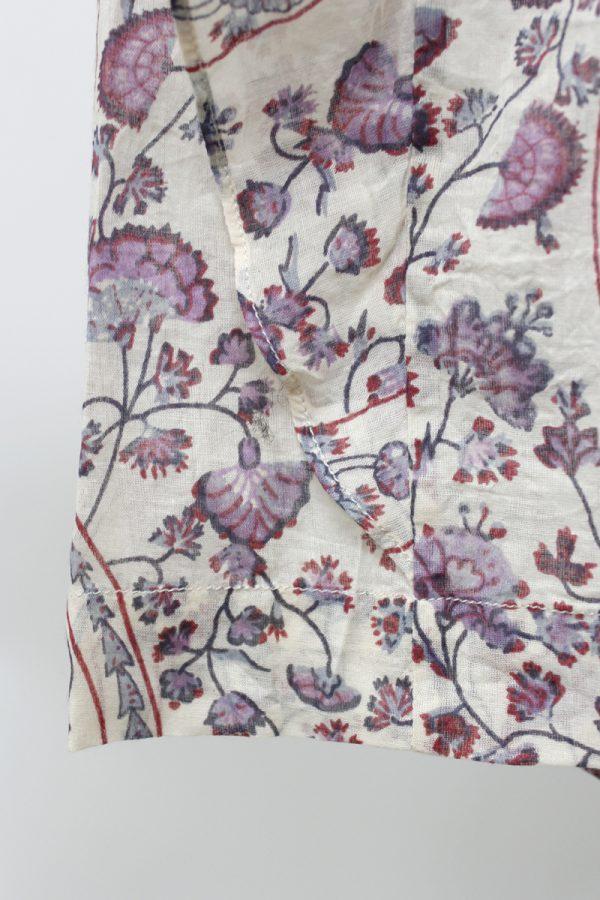 ISABEL MARANT ETOILE 花柄フリル袖ブラウス [19AW]
