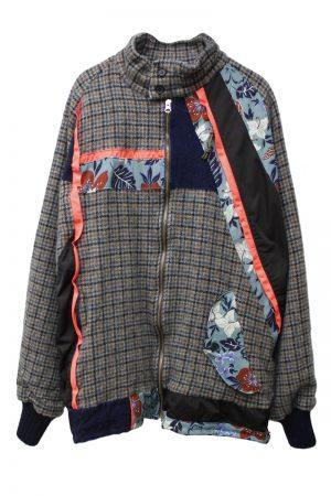 kolor 【40%OFF】切替ウールジャケット