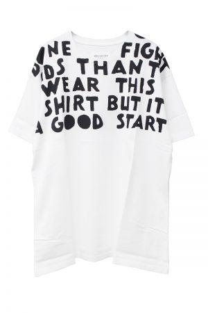MAISON MARGIELA 【50%OFF】ビッグロゴAIDS Tシャツ