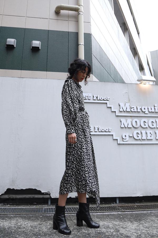 ISABEL MARANT 【40%OFF 】ラメ総柄ロングドレス【19AW】