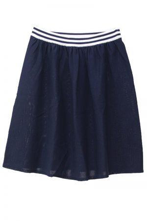 DEMYLEE ウエストボーダースカート