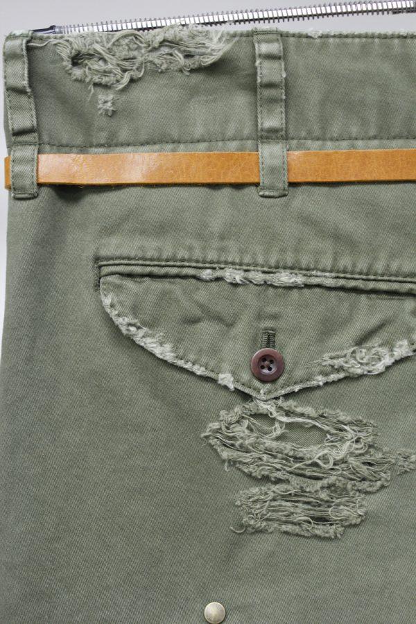 kolor ベルト付切替スカート【19AW】