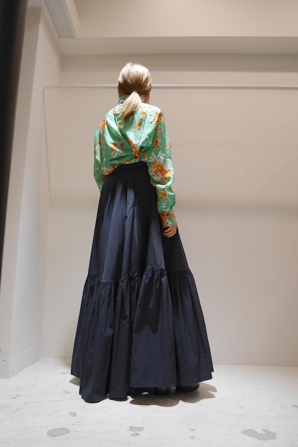 PLAN C 【PRE SALE 30%OFF 】ロングスカート【19AW】