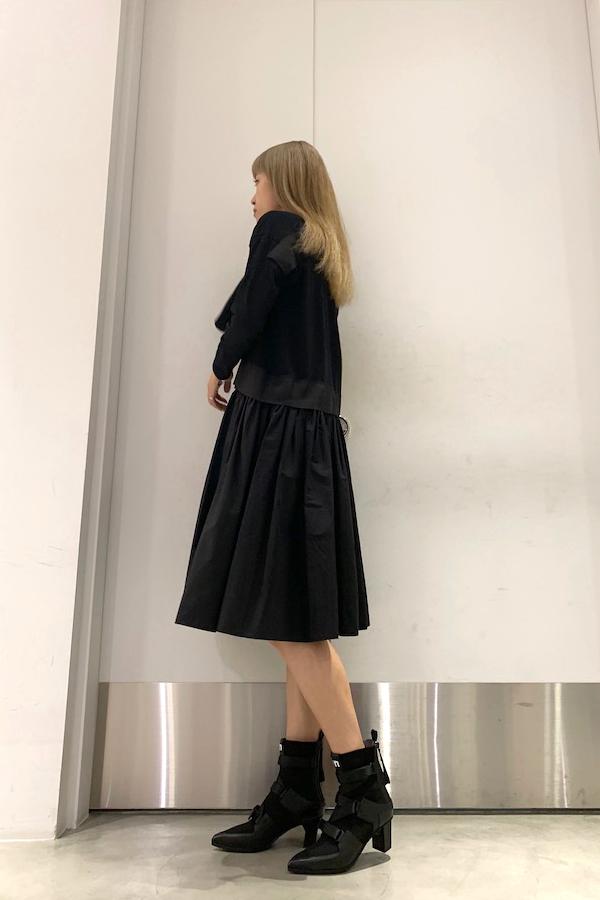 REKISAMI プリント切替ワンピース【19AW】