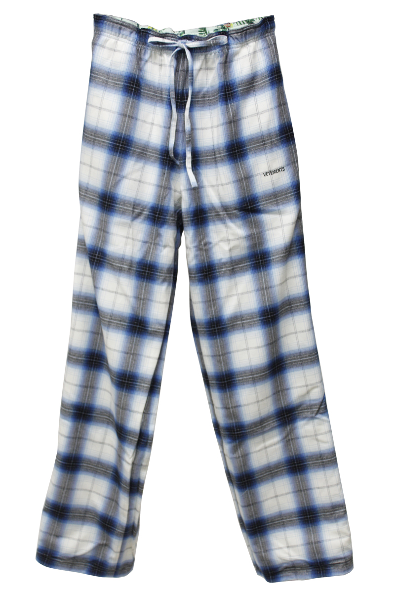 VETEMENTS 【40%OFF】リバーシブルパジャマパンツ【19AW】