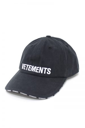 VETEMENTS LOGO CAP【19AW】