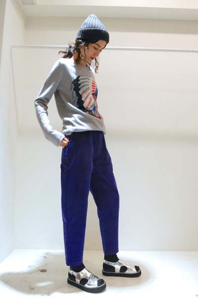 QUEENE and BELLE Iconic Chief ニット【19AW】
