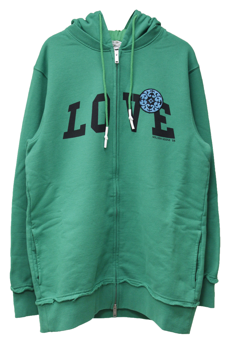 GOLDEN GOOSE DELUXE BRAND 【40%OFF 】LOVE フーディ