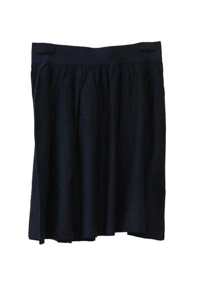 DEMYLEE ウールシルクニットスカート