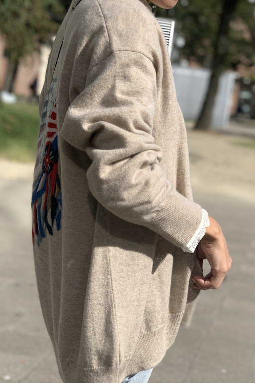 QUEENE and BELLE Iconic Chief カーディガン【19AW】