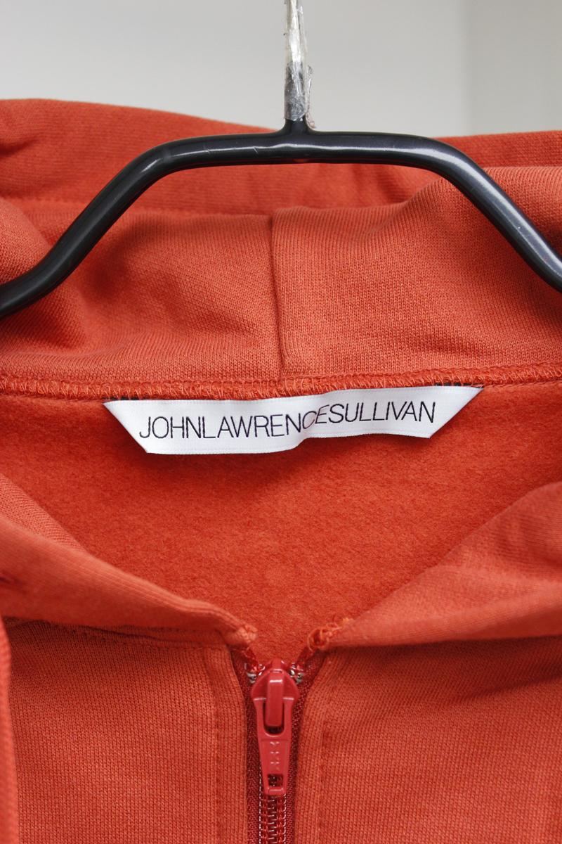 JOHN LAWRENCE SULLIVAN 【40%OFF 】ギャザースウェットフーディ【19AW】