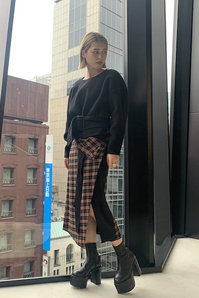 3.1 PHILLIP LIM 【40%OFF】ベルテッドセーター