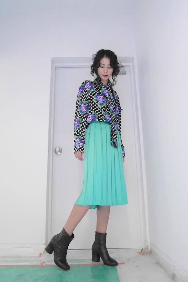 PLAN C 【40%OFF】プリーツスカート【19AW】