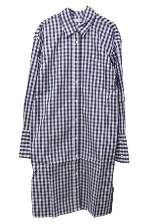 JW ANDERSON 【50%OFF】ギンガムシャツドレス [19AW]