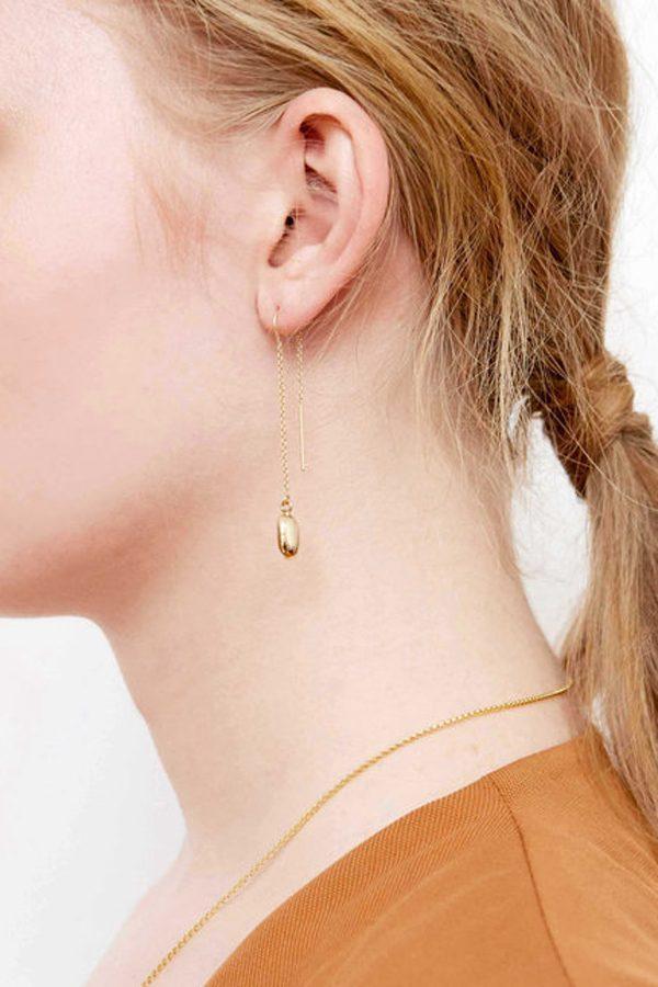 SASAI jewelry Drop Earring (GOLD) [19AW]