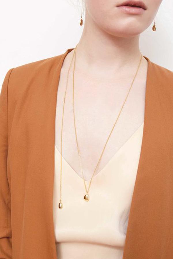 SASAI jewelry Drop Necklace