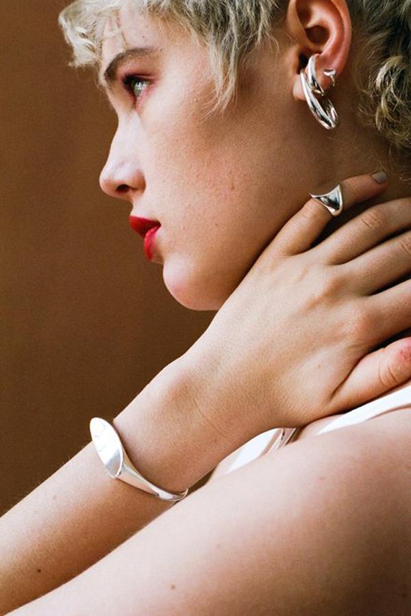 SASAI jewelry Inversion Cuff