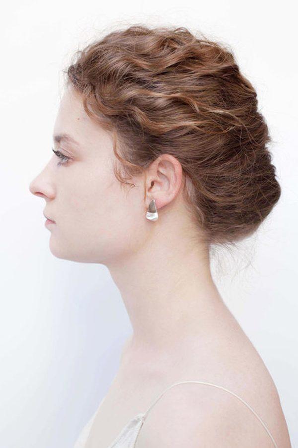 SASAI jewelry Iso-Petal Earring (SILVER) [19AW]