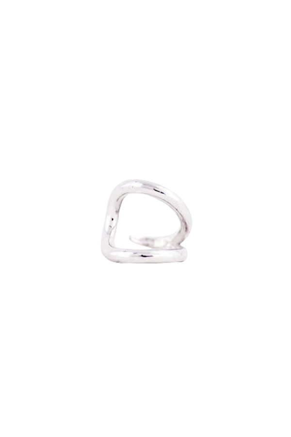 SASAI jewelry Loop Ring (SILVER) [19AW]