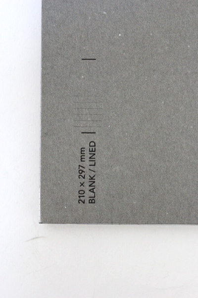 GOLDEN GOOSE DELUXE BRAND HAUS ノート 210×297 LINED