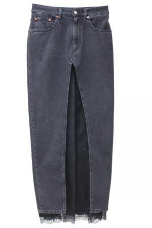 MM6 MAISON MARGIELA 【PRE SALE 30%OFF 】レイヤードロングスカート【19AW】