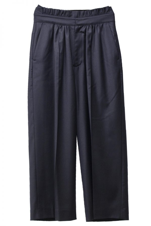 M/M ATTACHMENT フロントギャザースラックス  [19AW]