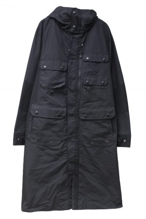 White Mountaineering 【PRE SALE 30%OFF 】フード付ロングコート 【19AW】
