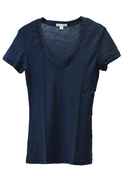 JAMES PERSE コットンVネックTシャツ