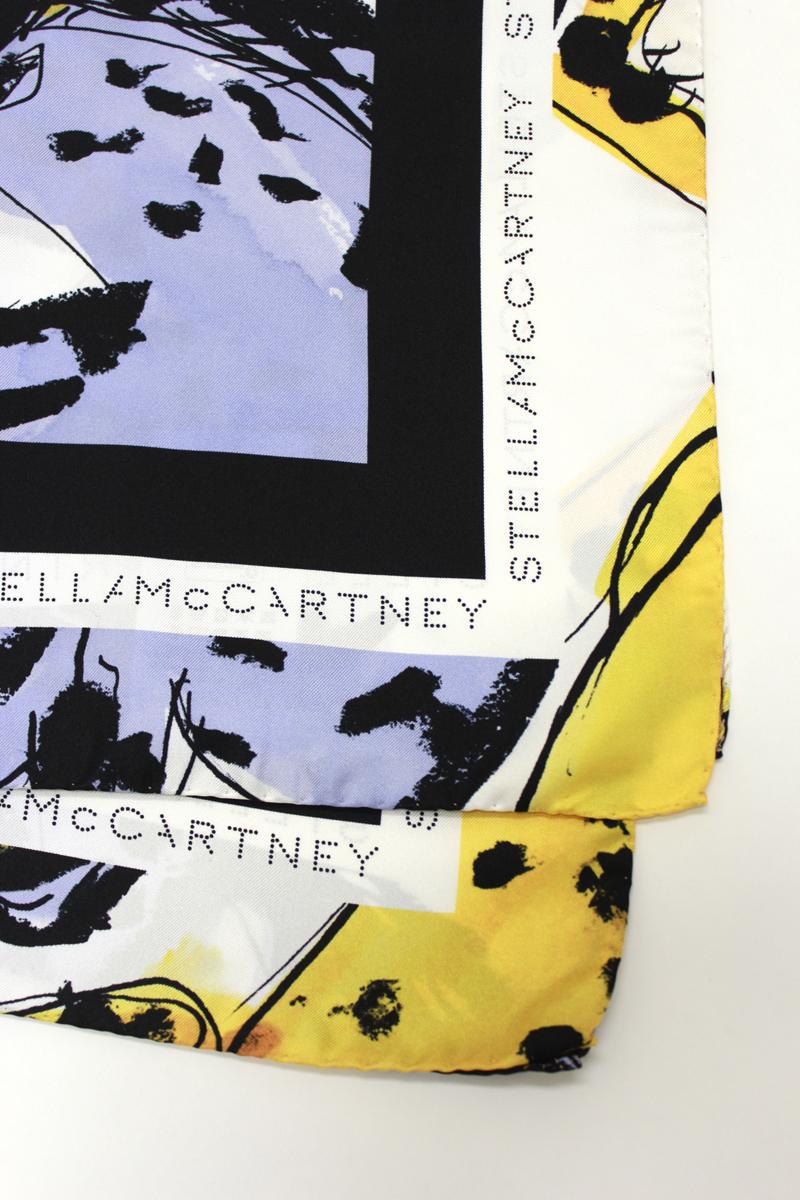 STELLA McCARTNEY 【40%OFF】プリントスカーフ