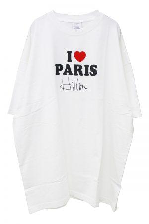 VETEMENTS I LOVE PARIS Tシャツ【20SS】