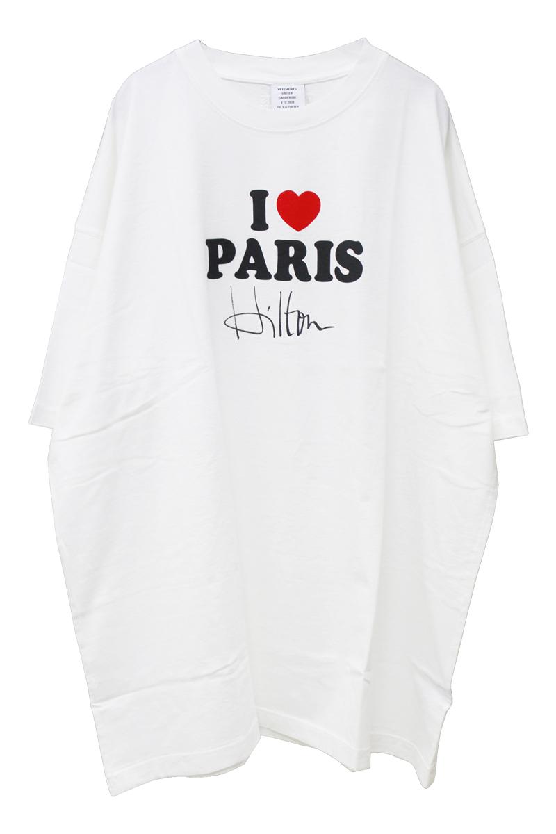 VETEMENTS 【30%OFF】I LOVE PARIS Tシャツ【20SS】