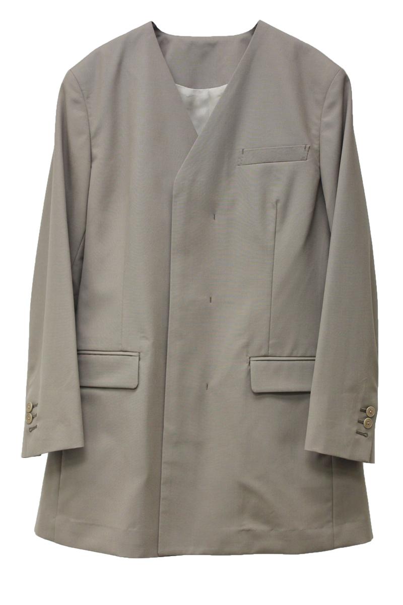 08 SIRCUS 【40%OFF】カラーレスジャケット【20SS】