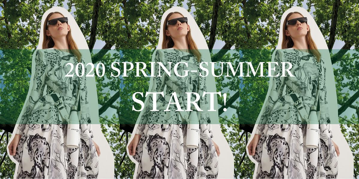 【2020 SPRING-SUMMER】スタート!!