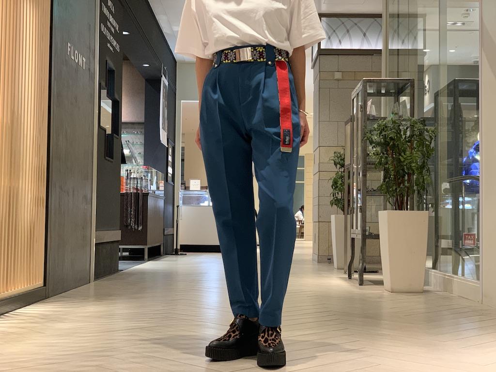 kolor 【40%OFF】ベルト付センタープレスパンツ【20SS】