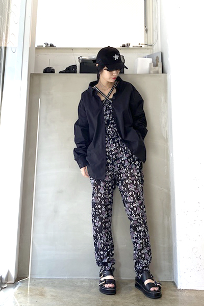 WE11DONE 【40%OFF】ZIP付オーバーシャツ【20SS】