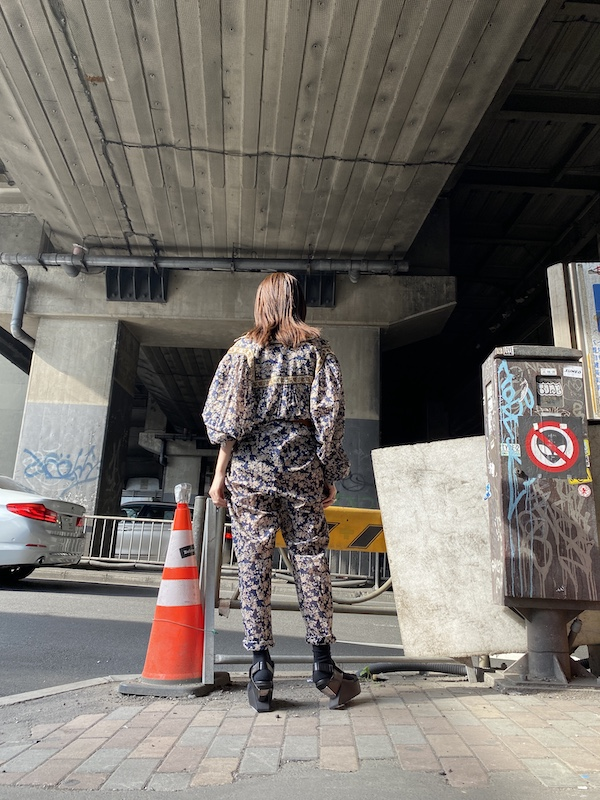ISABEL MARANT ETOILE 【40%OFF】花柄オールインワン【20SS】