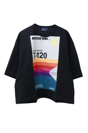 kolor プリントボックスTシャツ【20SS】
