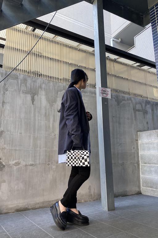 VETEMENTS 【50%OFF】ピンストライプテーラードジャケット